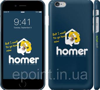 """Чехол на iPhone 6 Plus Гомер. Истерика """"3043c-48"""""""