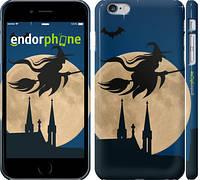 "Чехол на iPhone 6 Plus Ведьма на метле v2 ""3251c-48"""