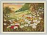 Ромашковое поле Набор для вышивки крестом 14СТ
