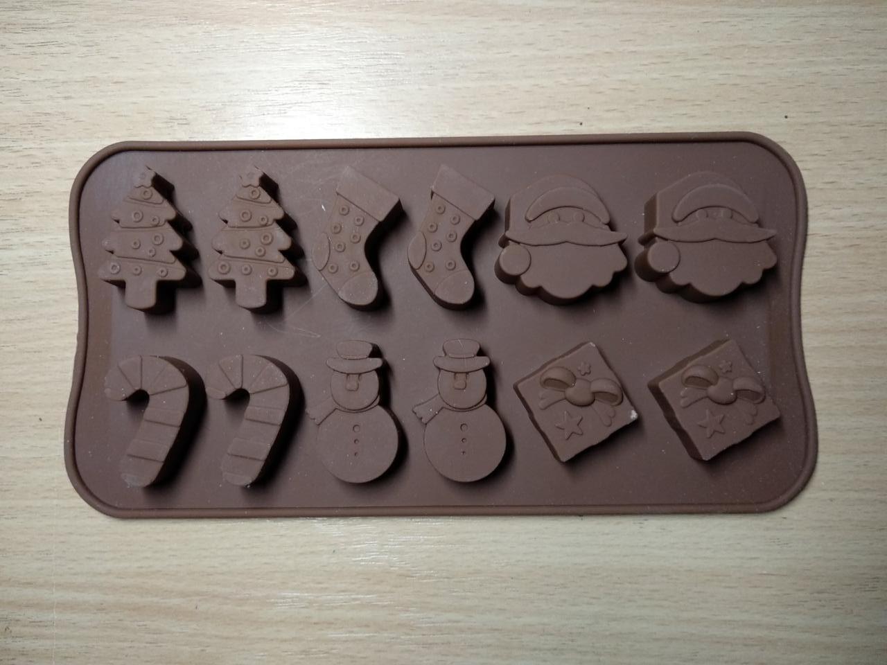 Форма силиконовая для конфет Empire Новогодняя