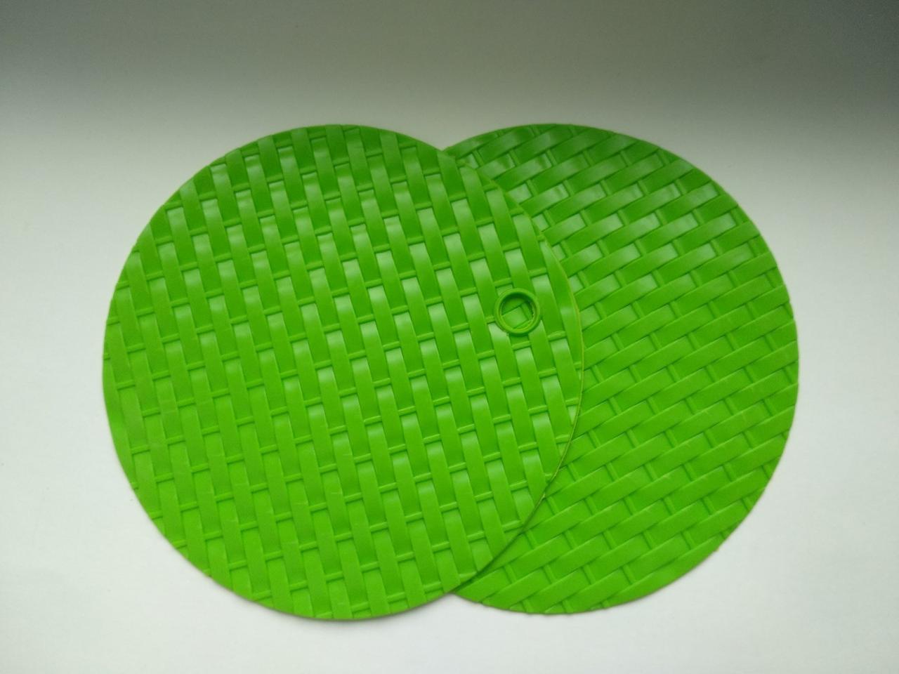 Подставка силиконовая под горячее О15см в наборе из 2-х