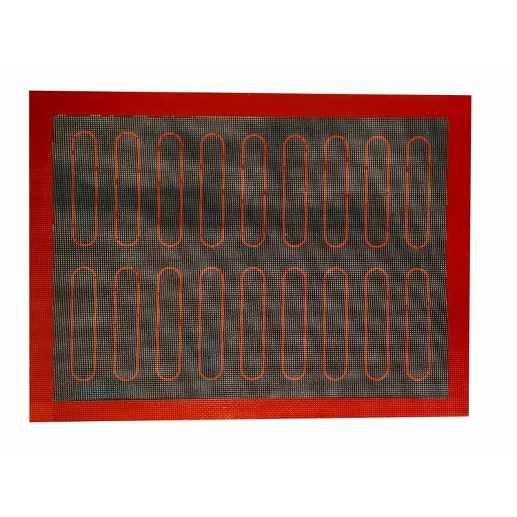 Силиконовый коврик перфорированный для выпечки 40*30 см.