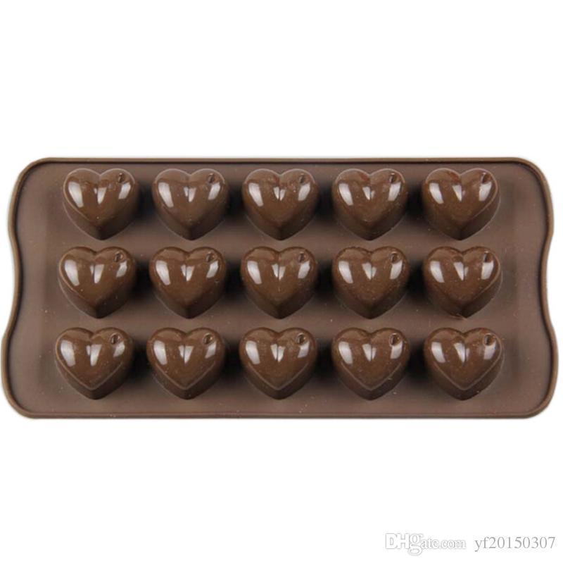 Форма силиконовая для конфет Empire Сердечки