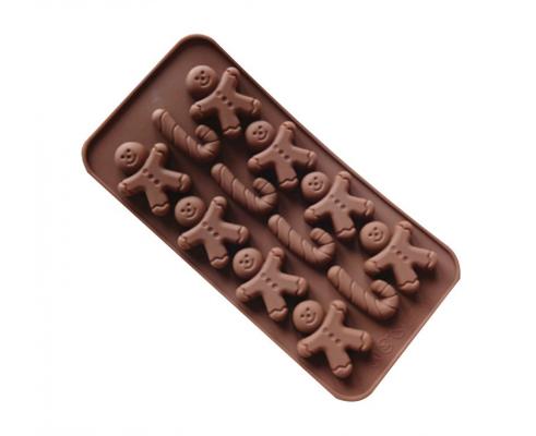 Форма силиконовая для конфет Empire Пряничный человечек