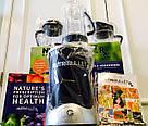 Кухонный блендер NutriBullet RX 1700W фитнес-блендер - Пищевой экстрактор / комбайн / Измельчитель реплика, фото 10
