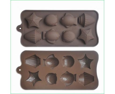 Форма силиконовая для конфет Empire Морская