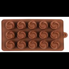 Форма силиконовая для конфет Empire Вихрь