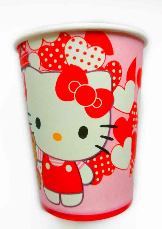 "Стаканчики ""Hello Kitty""."