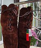 Женские зимние сапоги Respect Португалия натуральная замша шерсть 39, фото 4