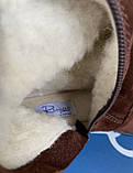 Женские зимние сапоги Respect Португалия натуральная замша шерсть 39, фото 5