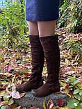 Женские зимние сапоги Respect Португалия натуральная замша шерсть 39, фото 9