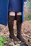 Женские зимние сапоги Respect Португалия натуральная замша шерсть 39, фото 10