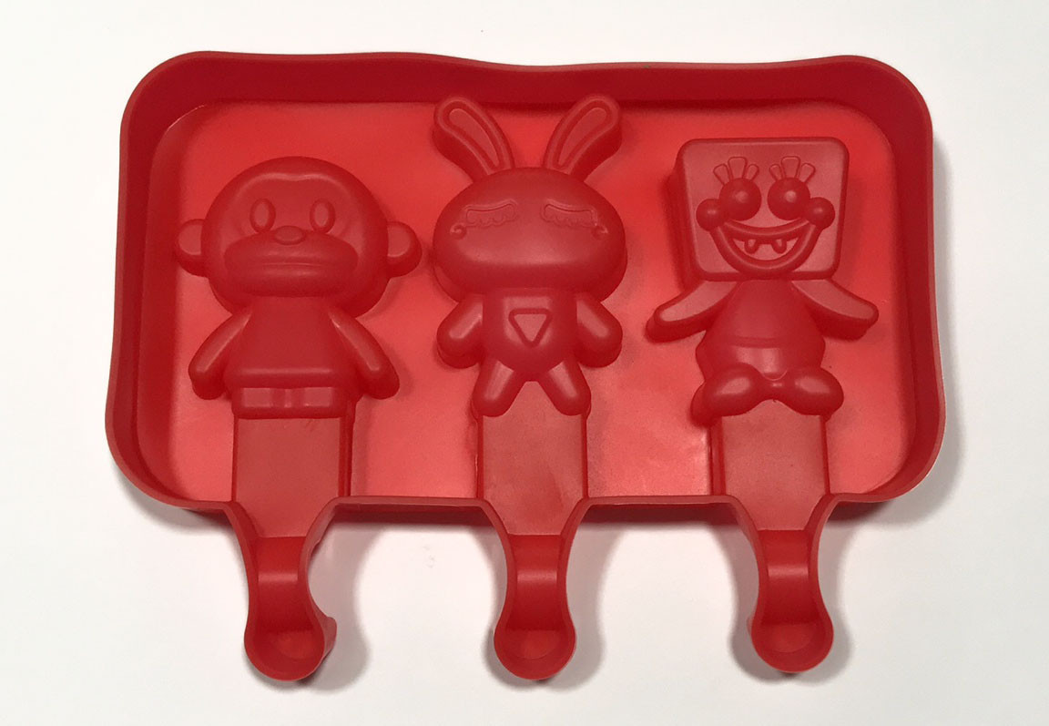 Форма силиконовая для мороженного Empire Зверята