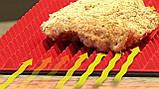 Коврик силиконовый для запекания без жира 29х40 см, фото 5