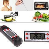 Термометр - щуп кулинарный цифровой -50 до +300 в колбе, фото 3