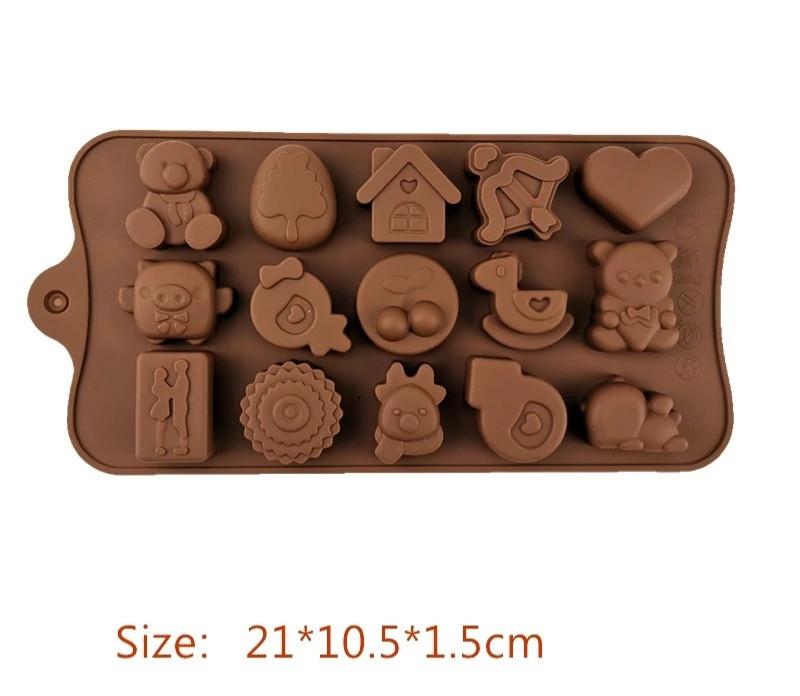 Форма силиконовая для конфет Empire Детская 1