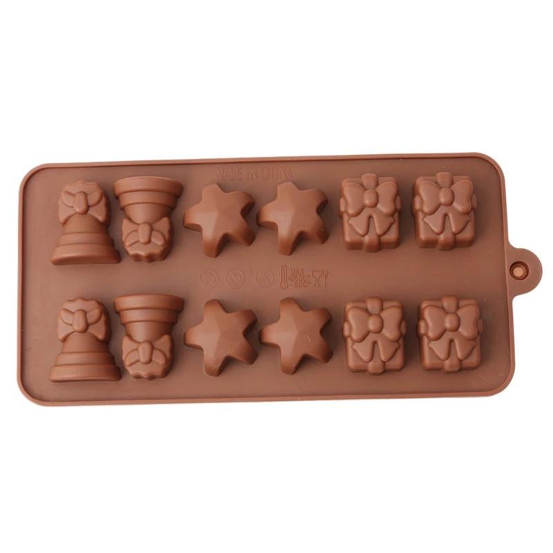 Форма силиконовая для конфет Empire Рождество