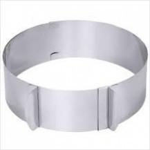 Форма для выпечки Кольцо раздвижное h-8.5 см