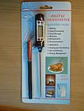 Термометр - щуп кулинарный цифровой -50 до +300 с защитным чехлом, фото 3