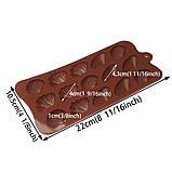 Форма силиконовая для конфет Ракушки, фото 3