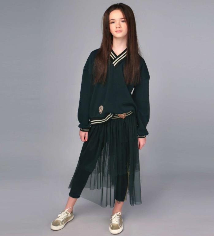 Фатиновая юбка-накидка  тм Моне р-р 152