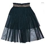 Фатиновая юбка-накидка  тм Моне р-р 152, фото 3