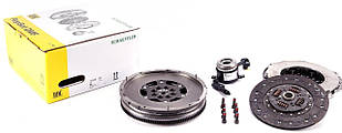 Демпфер + комплект сцепления VW Crafter 2.5 TDI 06-11, 120kw, BJM  LUK  (Германия) 600 0202 00