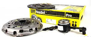 Комплект сцепления (корзина, диск, выжимной) VW Crafter 2.5TDI 120kW 2006- LuK (Германия) 626 3072 33