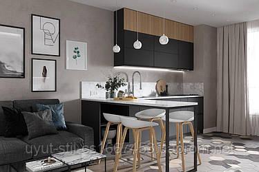 Идеи вашего дома Функциональный дизайн маленькой кухни-гостиной: лучшие идеи для интерьера