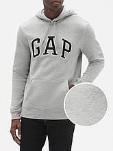 Мужская толстовка с капюшоном GAP худи art134224 (Серый, размер XXL)