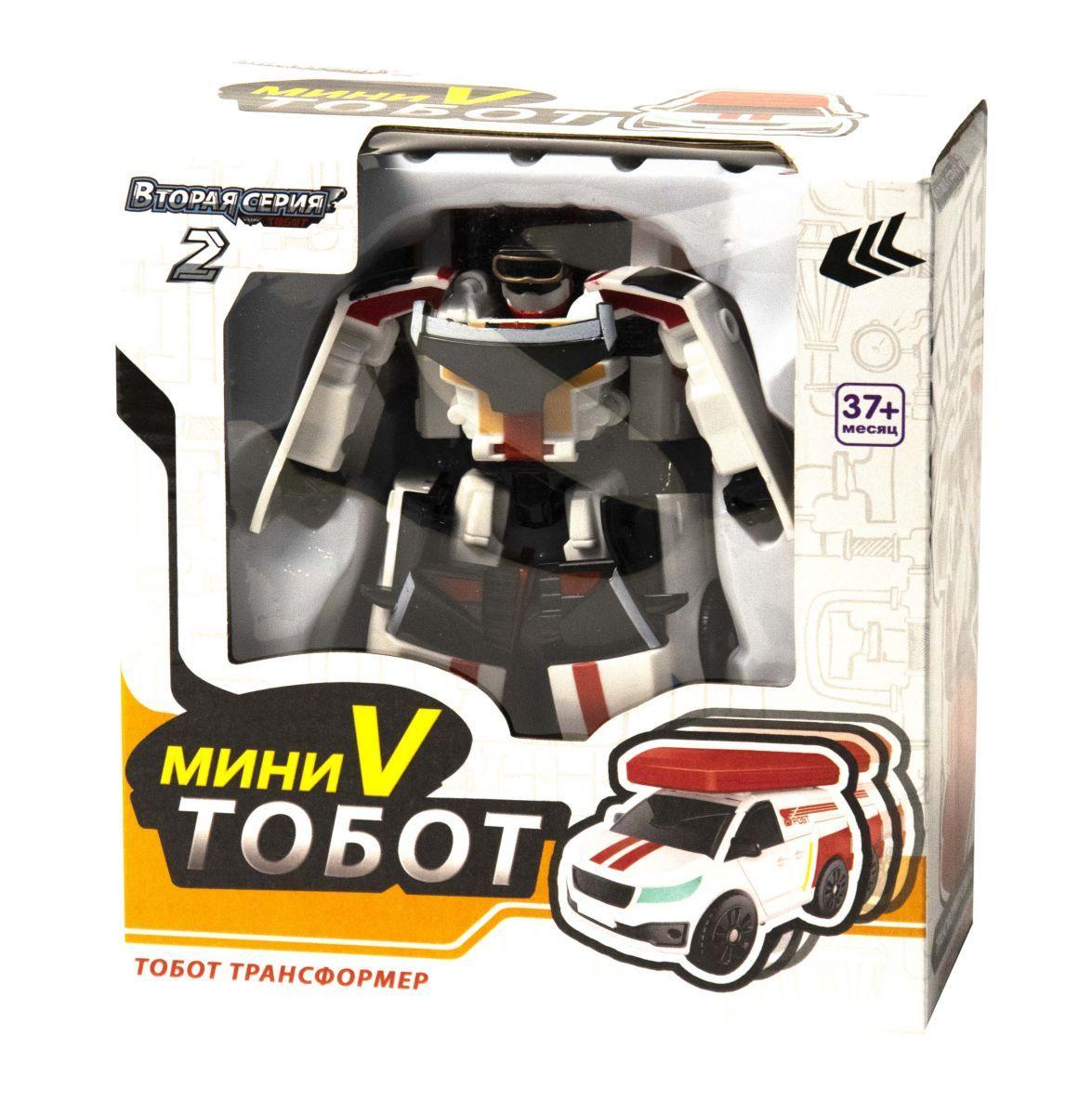 Трансформер Тобот V мини Tobot mini V