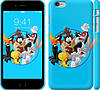 "Чехол на iPhone 6 Plus The Looney Tunes Gang ""3059c-48"""