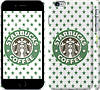 "Чехол на iPhone 6 Plus Starbucks v4 ""3095c-48"""