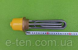 """Блок тэн нержавейка (для парового утюга, парогенератора) 4500W / 220V / резьба 1,5"""" / Lдлина=180мм (KAWAI)"""