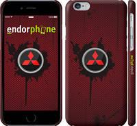 """Чехол на iPhone 6 Mitsubishi. Logo v2 """"3126c-45"""""""