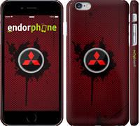 "Чехол на iPhone 6 Plus Mitsubishi. Logo v2 ""3126c-48"""