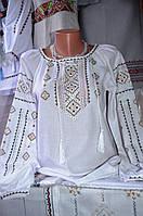 """Жіноча вишита блузка """"Оливка"""""""