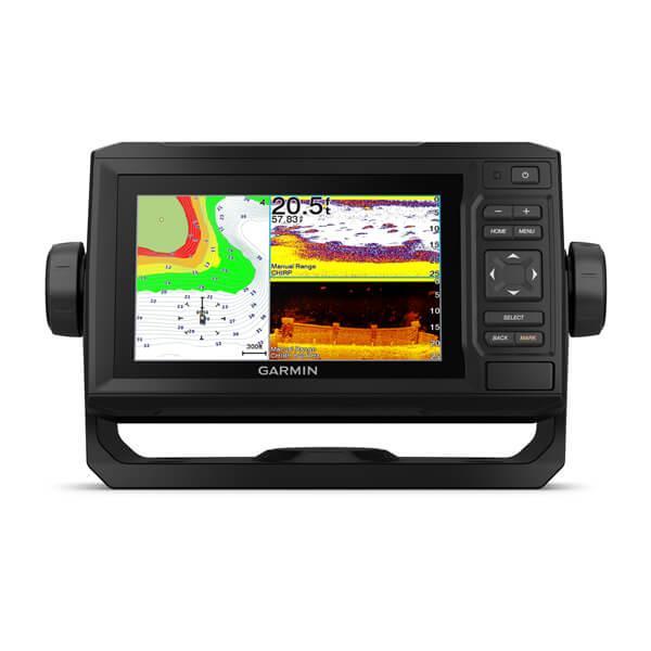 Ехолот GPS-Плоттер Garmin Echomap UHD 63CV With GT24UHD-TM GPS-Плоттер