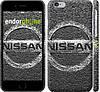 "Чехол на iPhone 6 Nissan. Logo v2 ""3130c-45"""