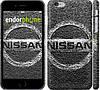 "Чехол на iPhone 6 Plus Nissan. Logo v2 ""3130c-48"""