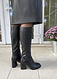 Женские зимние сапоги Respect оригинал натуральная кожа шерсть 37, фото 7