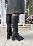 Женские зимние сапоги Respect оригинал натуральная кожа шерсть 39, фото 7