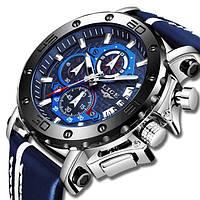 Lige Мужские часы Lige Bali Blue, фото 1