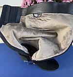 Женские зимние сапоги Respect оригинал натуральная замша шерсть 38, фото 4