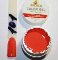 Гель цветной color gel