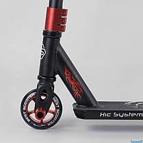Самокат трюковый 32947 Best Scooter HIC-система, ПЕГИ, алюминиевый диск и дека, колёса PU, d=10 см, в коро, фото 2