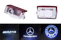 Подсветка двери Mercedes GL ML E C A B class после 2011г, фото 1