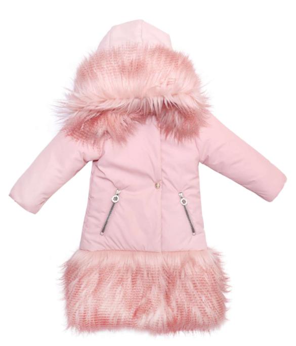Куртка удлиненная для маленькой девочки ТМ МОНЕ р-р 92