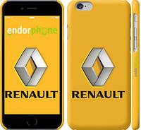 "Чехол на iPhone 6 Renault. Logo v2 ""3170c-45"""