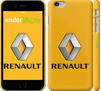 "Чехол на iPhone 6 Plus Renault. Logo v2 ""3170c-48"""